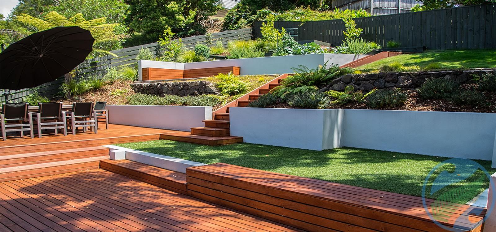 Landscape design auckland peter fry landscaping auckland for Landscape design nz